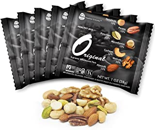 Daily Nuts Healthy Mix Multipacks UNSALTED, No Additives, Dry Roasted, Premium Nuts, NON -GMO (A. Original, 22 Pack)