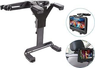 MAYOGA Auto Kopfstütze Halterung Halter Auto Kopfstützenhalterung Tablet Halterung, 360 ° verstellbare Auto Rücksitz Kopfstütze Verlängerung Halterung für alle 7 12 Zoll iPad, Tabletten, DVD Player