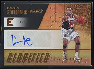 Damon Stoudamire 2017-18 Panini Essentials Glorified Signatures  27 Auto   49 Basketball Blazers 779f365b6
