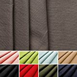 Feincord - 100% Baumwolle - Stoff - Meterware (grau)