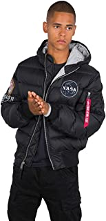 ALPHA INDUSTRIES Hooded Puffer Apollo 11 Jacket