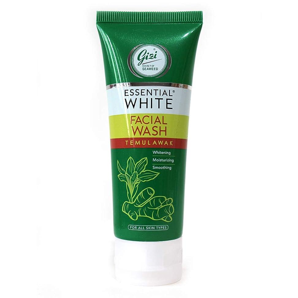 生き物ゼロところでギジ gizi Essential White フェイシャルウォッシュ 50ml テムラワク ウコン など天然成分配合 洗顔フォーム [海外直送品]