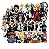 Japanese Bleach Anime Waterproof Sunlight-Proof DIY Ideals for Cars Motorbikes Skateboard Spinner Luggages Laptops (Bleach Anime)