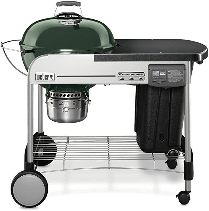 Weber 15501001 Performer Deluxe Charcoal Grill - Best Quality
