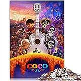 YITUOMO 1000 piezas Rompecabezas para adultos Coco póster de película Classic Puzzle Niños Pinturas intelectuales Puzzle Juego Juguetes Regalo 38x26cm