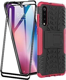 FANFO® Funda para Samsung Galaxy A30s de Silicona y PC Antigolpes Carcasa Protectora Anti-arañazos y Antideslizante con So...
