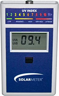 Solarmeter Model 6.5 UV Index Meter - Measures 280-400nm with Range from 0-199.9 UV Index
