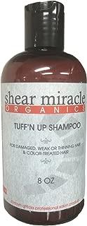 Tuff'n up Shampoo (Strengthens Weak, Damaged or Thinning Hair) Vegan, Gluten Free, GMO Free, No Animal Testing.