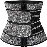 Cintura da Allenamento per Donna Cintura per Il Controllo della Pancia Vita Cincher Trimmer Sauna Sudore Dimagrante Body Shaper Allenamento Cintura Fascia per Il Ventre