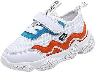 cb327bd8c23 LEERYAAY Baby Girl Boy Children Mesh Petchwork Running Sport Sneaker Casual  Shoes