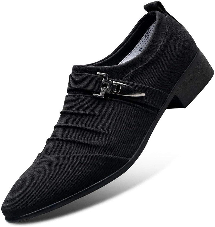 8c1abf8041e62 AADDIN Leather shoes Men Dress shoes Office shoes For Men Flats ...