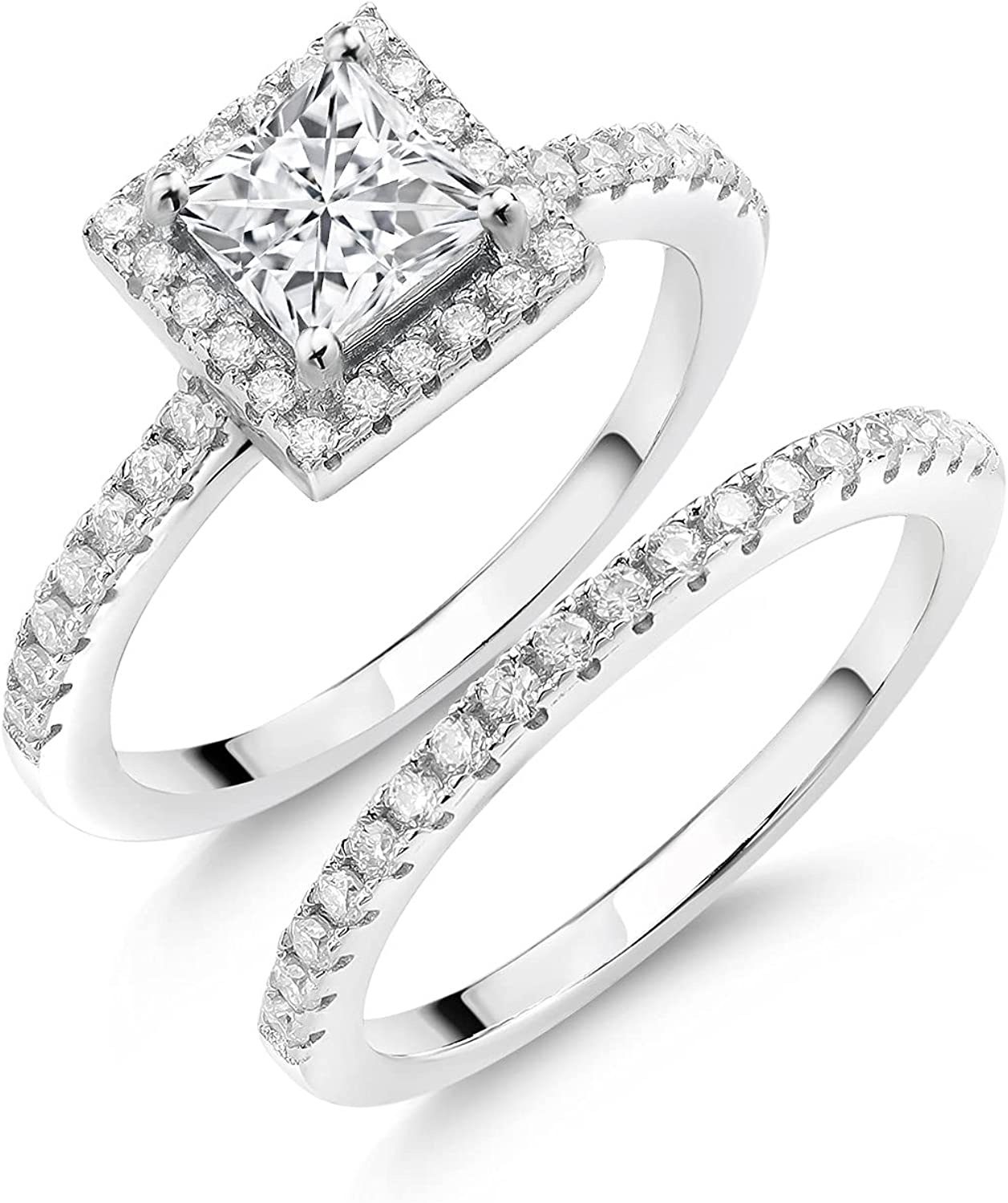 925 Sterling Silver Women Classic Wedding Ring Engagement Se Bridal Austin Mall Band