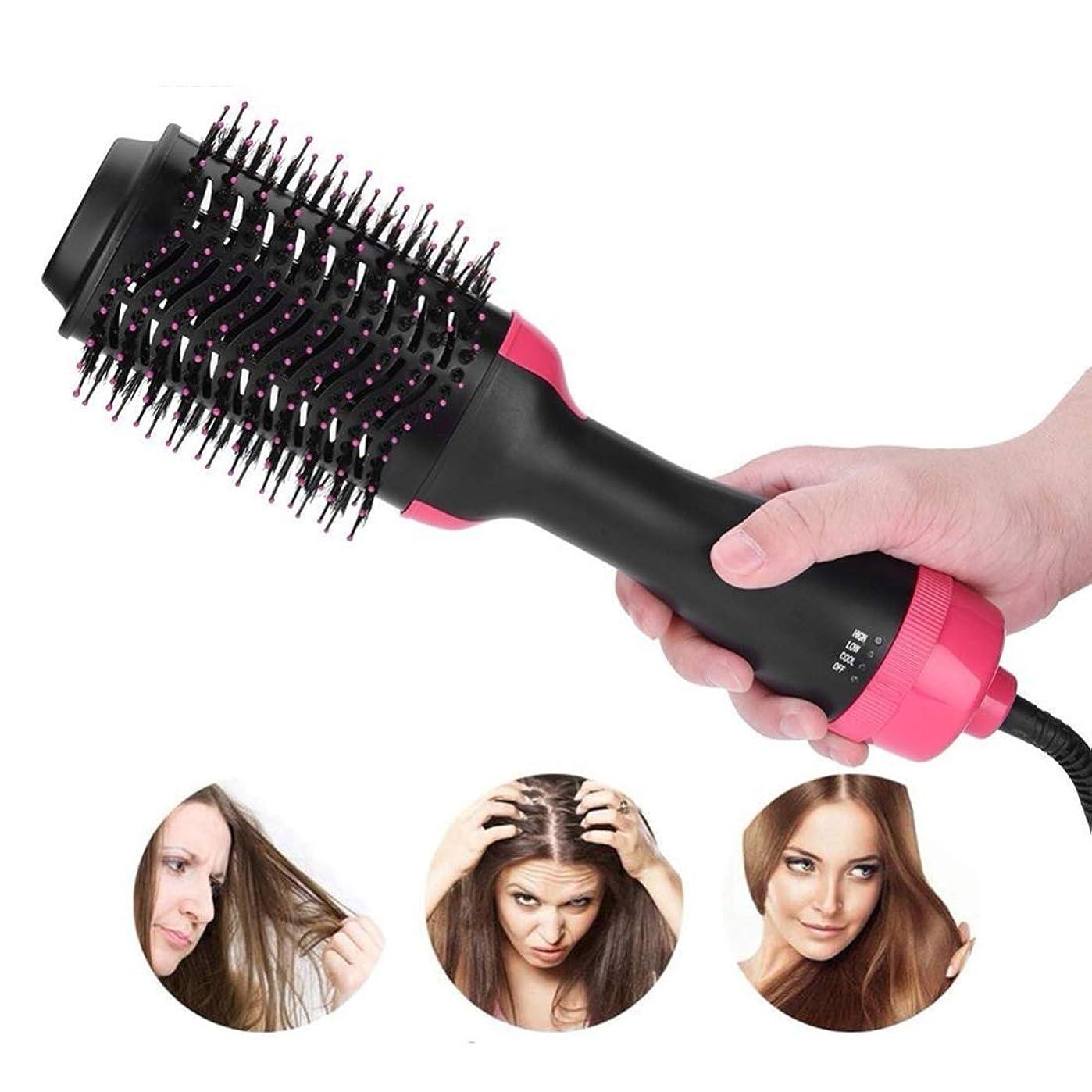 主流部分的にシルクOULYO- ワンステップヘアードライヤーとボリューマイザースタイラー、多機能強化剤とカーラー、IONICセラミック、マルチヒートセッティング、1000ワットすべての髪に最適