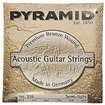 """Pyramid Acoustic Guitar """"Premium Bronze"""" SL"""