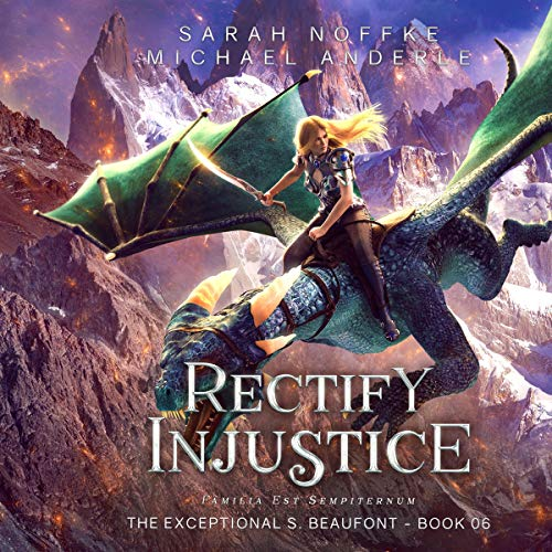 Rectify Injustice Audiobook By Sarah Noffke, Michael Anderle cover art