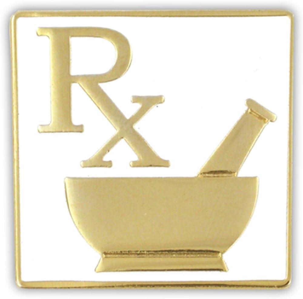 PinMart Pharmacy RX Logo Lapel Pin