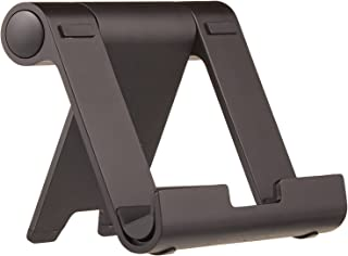 AmazonBasics Multi-Angle Portable Stand for iPad Tablet, E-reader and Phone - Black