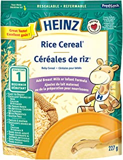 Heinz Rice Cereal - No Milk, 227g (Pack of 6)