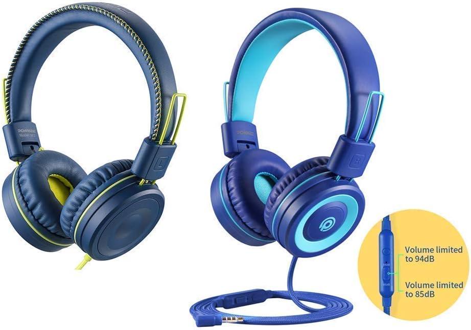 POWMEE M1 Kids Headphones & POWMEE P10 Kids Headphones