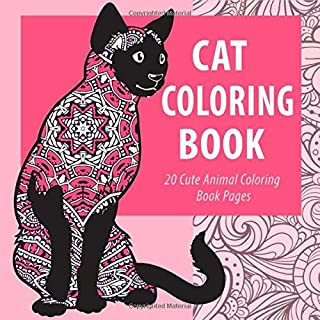Cat Coloring Book: 20 Adorable Animal Coloring Book Pages