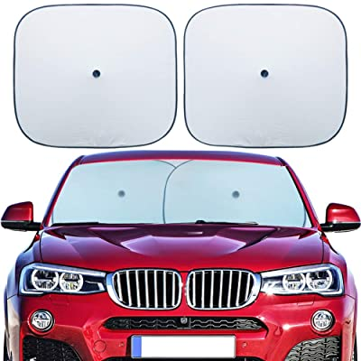 Flyday Car Windshield Sun Shade - Blocks UV Ray...
