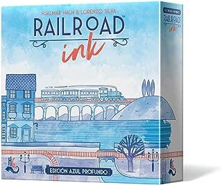 Asmodee - Railroad Ink: Edición azul profundo - Español