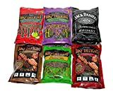 BBQrs Delight Wood Smoking Pellets - Super Smoker Variety Value Pack - 1 Lb. Bag - Apple, Hickory,...