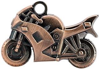 Yghfd Pen Drive Metal Cool Motorcycle USB Flash Drive 32GB 16GB 8GB 4GB Keychain U Disk Pendrive Bronze Moto Car Keychain ...