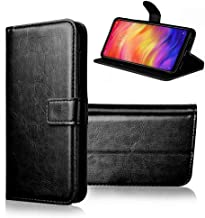 BeingStylish Flip Cover for Realme C2 Mobile Phone (Executive Black) | Premium Leather Finish | Foldable Stand Case | Wall...