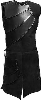 Alivila.Y Fashion Mens Renaissance Medieval Waistcoat Victorian Vest Warrior Costume