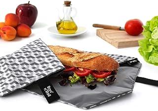 Boc'N'Roll sandwich wrap - Tile Grey Women's by ioco