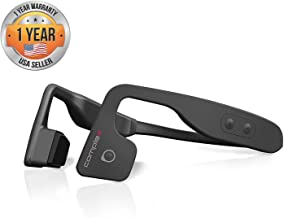 Bluetooth Bone Conduction Sport Headphones - Open Ear Stereo Running Headset w/ Revolutionary Bone Induction Technology for Smart Cycling and Sports, Wireless Bluetooth Audio, Call Mic - Pyle