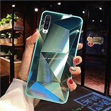 URFEDA Compatibel met Samsung Galaxy A50 telefoonhoesje Diamond Glitter Case met spiegeleffect Sparkly Bling TPU Siliconen...