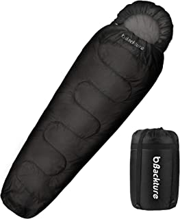 comprar comparacion BACKTURE Saco de Dormir para Acampar, Impermeable con Bolsa de Compresión, 3 Estaciones 5~25℃, para Viajes, Camping, Sende...