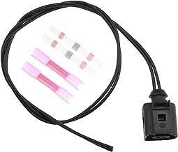 2 Pines 1J0973702 arnés eléctrico Cable Sensor de Temperatura Socket Compatible con VW/Audi A4 A6 A8 Q5 Q7 Conector de cableado