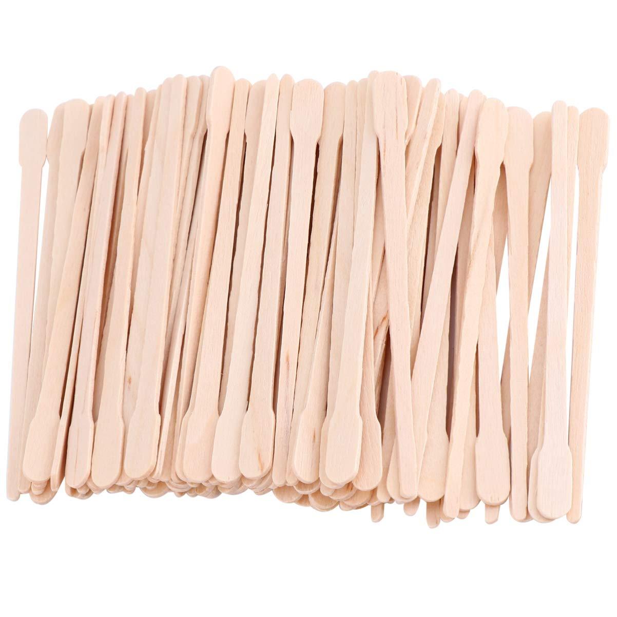 SOLUSTRE 600pcs Wood Wax Spatulas Ranking TOP1 Waxing Max 49% OFF Sticks Applicators