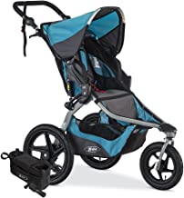 BOB Revolution Flex 2.0 Jogging Stroller; Lagoon with Handlebar Console and Tire Pump