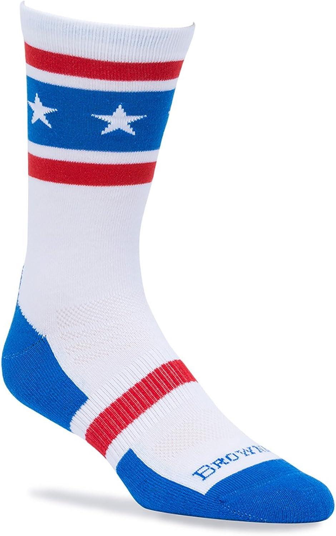 Browning Bg Unisex America Red White & Blue Socks