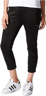 Women's Originals EQT Cropped Cigarette Pants Black White XXS