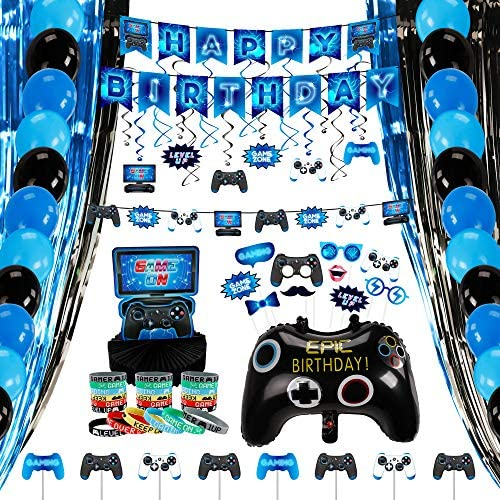 Decorlife Video Game Birthday Party Decorations...