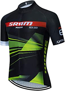 Maillot Ciclismo Hombre Manga Corta Camiseta Verano de Ciclistas Hombre Ropa Ciclismo Verano