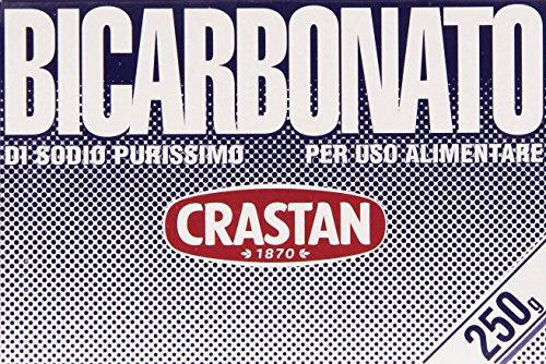 Crastan - Bicarbonato, di Sodio Purissimo, per uso alimentare - 250 g