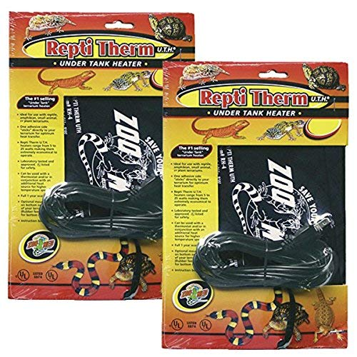 """Zoo Med ReptiTherm Under Tank Heater, 10 to 20 Gallons, 8"""" x 6"""""""