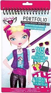 Fashion Angels Fashion Design Compact Sketch Portfolio/ Fashion Sketch Book
