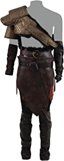 Classic Game War Spartan God Father Kratos Cosplay Costume Armor Costume Battle Outfit Son Atreu Costume