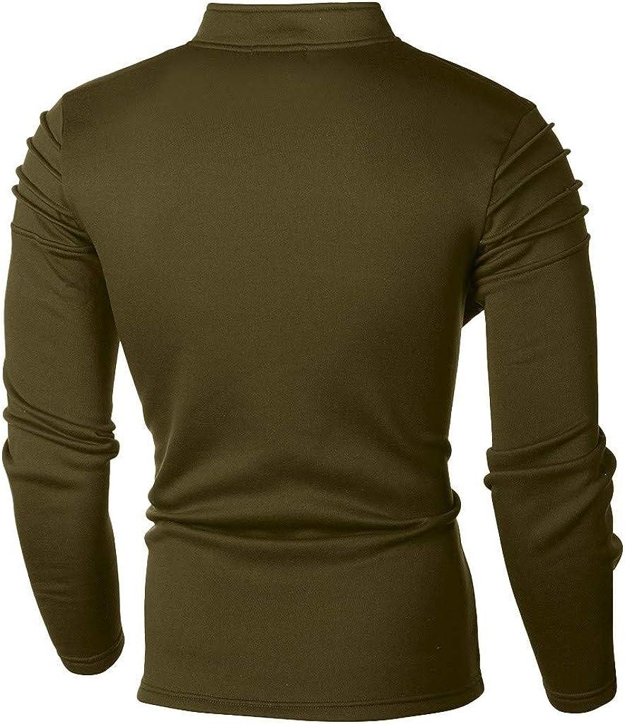 FORUU Men's Tracksuit Set Clearance,Casual Solid Full Zip Sweatshirt Top Jogger Sweatpants Sports Suit