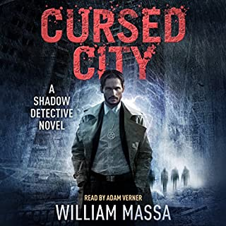 Cursed City audiobook cover art