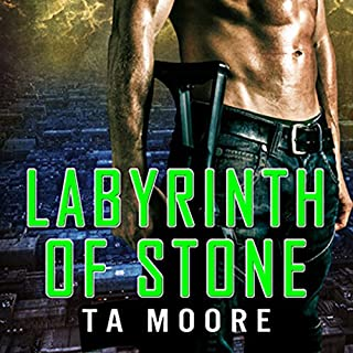 Labyrinth of Stone audiobook cover art