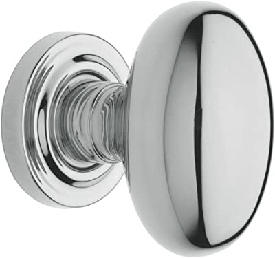 2.375 Polished Nickel Grandeur Hardware 852498 Circulaire Rosette with Coventry Knob Passage Backset Size