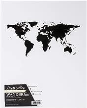 Teresa Collins Cardboard Wanderlust Binder 7-inch x 9.125-inch,